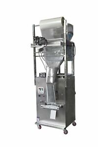 10-999g Granule Weighing &Packing Machine(Max Size:20*28CMW x L) Back side seal