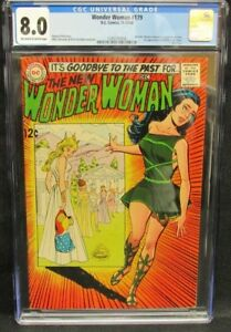 Wonder Woman #179 (1968) 1st I-Ching Appearance CGC 8.0 Off-White to White CV558