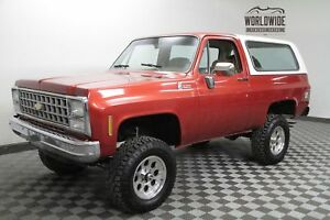 1980 Chevrolet Blazer RESTORED VINTAGE 4X4 $24K INVESTED CALL 1-877-422-2940! FINANCING! WORLD WIDE SHIPPING. CONSIGNMENT. TRADES. FORD