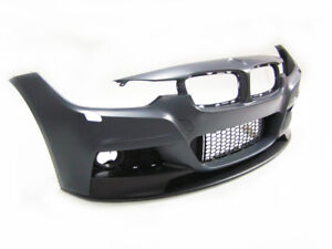 BMW 3Series F30 12-18 M Performance Front Bumper without PDC