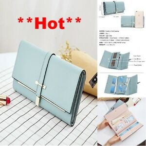 wallet for women clearance RFID Blocking Leather Slim Clutch Purse Long Designer