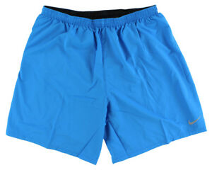 Nike Mens Seven Inch Phenom Two in One Shorts Blue