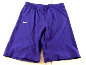 """Nike Fit-dry Girls Shorts Size L 27"""" Waist Purple New With Tags!"""
