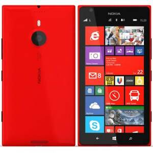 Nokia Lumia 1520 - 16GB - (Red) 4G LTE Wifi (Unlocked) Smartphone-FRB