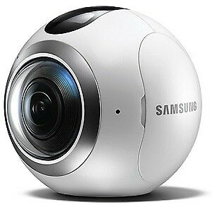 Samsung SM-C200NZWAXAR Wireless Camera Captures 360 Images - Google Street View