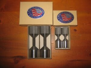 WELDERS amp; FITTERS TWO HOLE FLANGE PINS 1amp;5 8quot; amp; 1amp;1 8quot; dia. Made in USA. $59.99