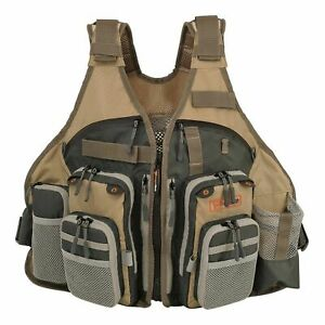 Anglatech Fly Fishing Vest Pack for Trout Fishing Gear and Equipment  Adjustable