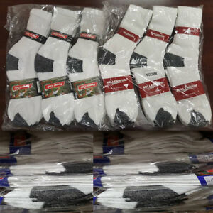 Men's Everyday Work Sports Casual Cotton Athletic Running Crew Socks Wholesale