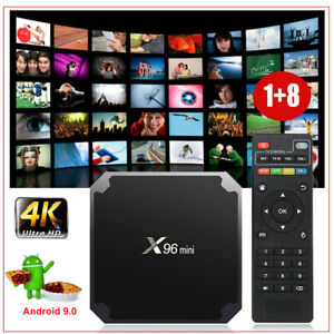 TX3PRO Android 7.1.2 Quad Core S905W 4K H.265 Smart TV BOX Movies Media MINI PC