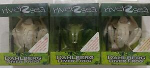 River2 Sea Dahlberg Diver Frog Lures (3) weedless lures