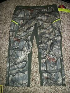 UNDER ARMOUR New NWT $180 Mens 44 Pants Mossy Oak Camo Camouflage Cold Gear
