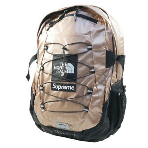 SUPREME  THE NORTH FACE 18 SS Metallic Borealis Backpack PINK FREE