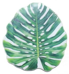 Tempered Glass Cutting Board Kitchen Decor Counter Top FUNNY Green Palm Leaf