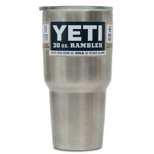 1 CASE of (24) Yeti Rambler 30oz Tumblers NIB never opened $14.59 each