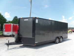 Enclosed Trailer 8.5#x27; X 20#x27; Charcoal Grey