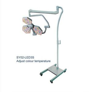 SY02-LED3S(on stand) Adjust color temperature LED Shadowless Surgical Light EM
