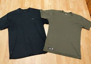 Under Armour TACTICAL UA TECH T-Shirt Men's Large Shirt lot with Nike Fit Dry