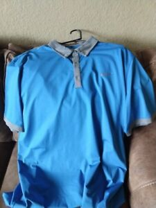 LOT OF 5 NIKE DRI-FIT MENS SS GOLF POLO SHIRT SIZE XXL