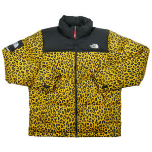 SUPREME  THE NORTH FACE 11 AW Nuptse Down Jacket YELLOW L