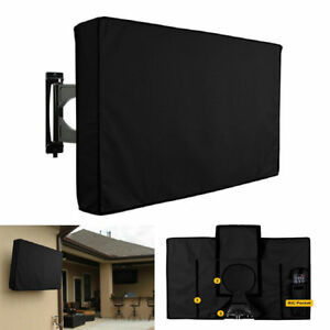 New TV Cover Outdoor Black Weatherproof Protector for 30