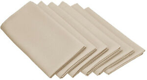 Set Napkins Polyester 20X20 6 Units Variety Colors By Broward Linens