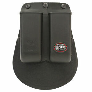 Fobus Double Mag Pouch For .22 & .380 Caliber Single Stack Magazines-6922P
