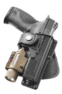 Fobus Tactical Paddle Holster For Glock 19/23/32 W/Light/Laser-Right Hand-RBT19