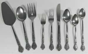 YOUR CHOICE - VERSAILLES STAINLESS FLATWARE MSI SPOON FORK KNIFE PIE SERVING+