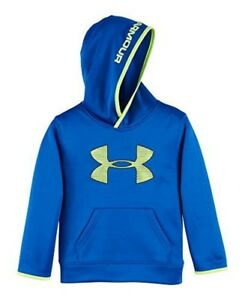 Under Armour Boys Pre-School UA Armour Fleece Highlight Hoodie 6 ULTRA BLUE