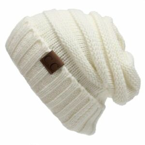 CC Beanie Over sized Baggy Slouchy Thick C.C Beanie Hats Warm amp; Very Flexible $7.99