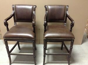 2 Frontgate Barrera BAR Height bar Stool Seat Height 30