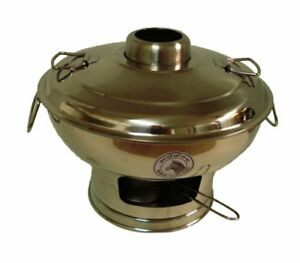 Stainless Steel Hot Pot, medium size #142325 Zebra Party Dinner Food Bar Cooking