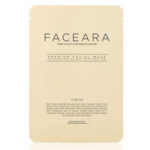 FACEARA Premium Facial Mask Sheet for Scrub & Super Moisturizer 25g 30EA Set