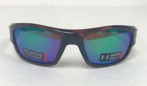 Under Armour Force Storm Mens Sunglasses TortGreen Polarized NWT