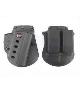 Fobus BRV Standard Evolution Paddle Holster and 6909 Magazine Pouch, Beretta 92