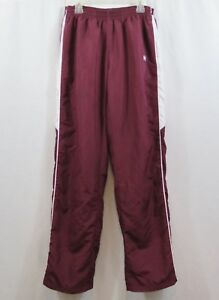 Women's UA Under Armour Burgundy Athletic Track Pants Size S