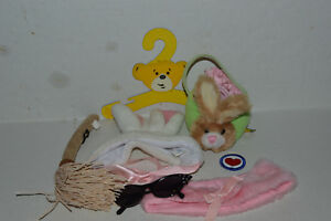 Build A Bear Clothing~Assortment Of 22 Accessories~Bows~Broom~Brush