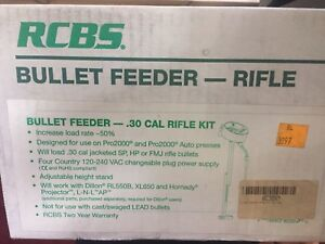 RCBS Automatic Rifle Bullet Feeder 30 Cal Auto Seater Feeder Die 82354