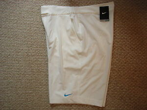 NWT Nike Nadal Rush & Crush 2010 French Open Tennis Shorts Federer 379260-100 L