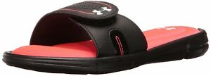 Under Armour Women's Ignite VII Slide Black (064)Sirens Coral 9 B(M) US