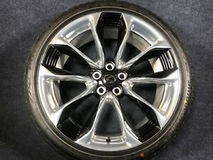 4 GNUINE LEXUS LC500 21 INCH WHEELS TIRES OEM FACTORY FORGED 21