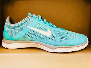 NIKE WOMEN'S IN-SEASON TR 5 SHOES hyper turquoise white grey 807333 301