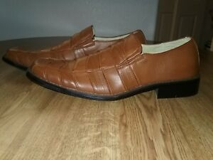 Bravados By Donato Marrone Men's Dress Shoes Whiskey Size 10 NWB New With Box