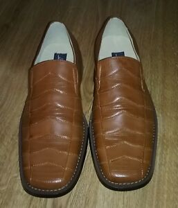 Brvados By Donato Marrone Men's Dress Shoes Whiskey Size 9.5 NWB New With Box