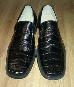 Bravados By Donato Marrone Men's Dress Shoes Black Size 9 NWB New With Box Cool