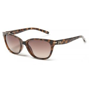 New Women`s Under Armour Perfect Shiny TortoiseBrown Gradient MSRP120