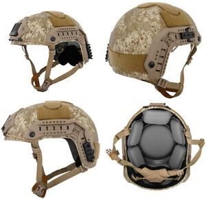 Lancer Tactical Simple Version Maritime ATH Helmet Desert Digital Camo CA-849D