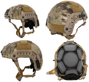 Lancer Tactical Simple Version Maritime ATH Helmet in HLD Scorpion Camo CA-849H