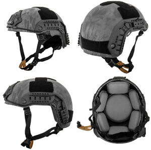 Lancer Tactical Simple Version Maritime ATH Helmet in TYP Typhoon Camo CA-849P