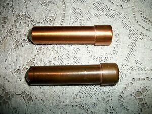 2 Vintage Mini Brass Kaleidoscopes